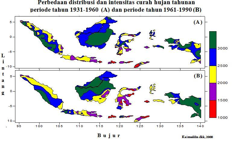 Klasifikasi iklim geography area gambar di bawah menunjukan perbandingan distribusi dan intensitas curah hujan klimatologi antara dua periode 1931 1960 dengan periode 1961 1990 dan ccuart Images